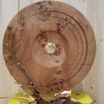 Lampe coeur de gong