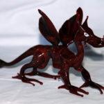 Dragon verre de couleur